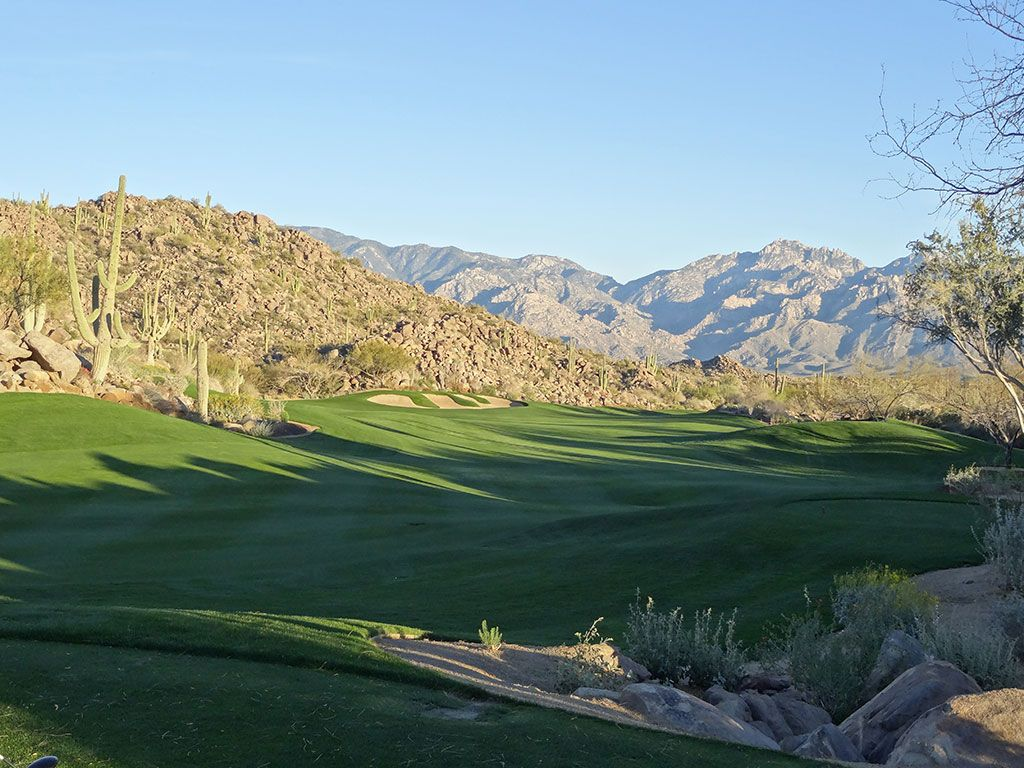 18th Hole at Stone Canyon Club (503 Yard Par 4)