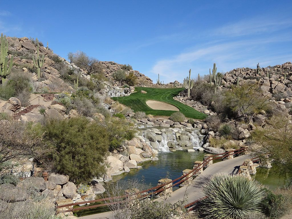 6th Hole at Stone Canyon Club (145 Yard Par 3)