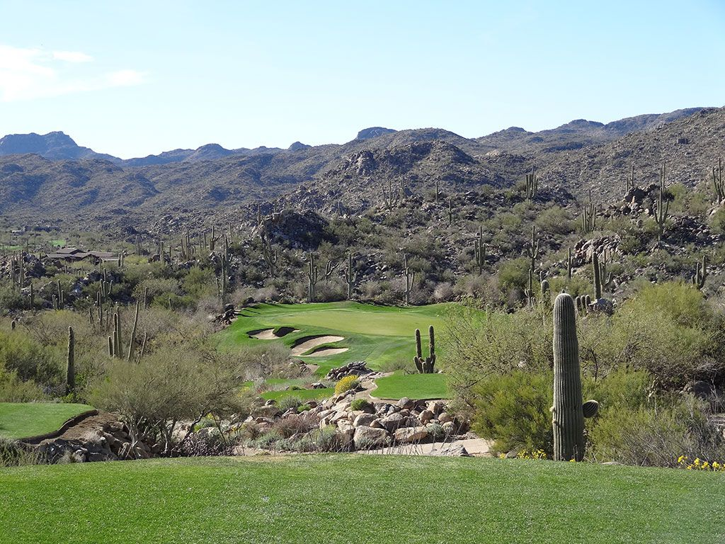 9th Hole at Stone Canyon Club (227 Yard Par 3)