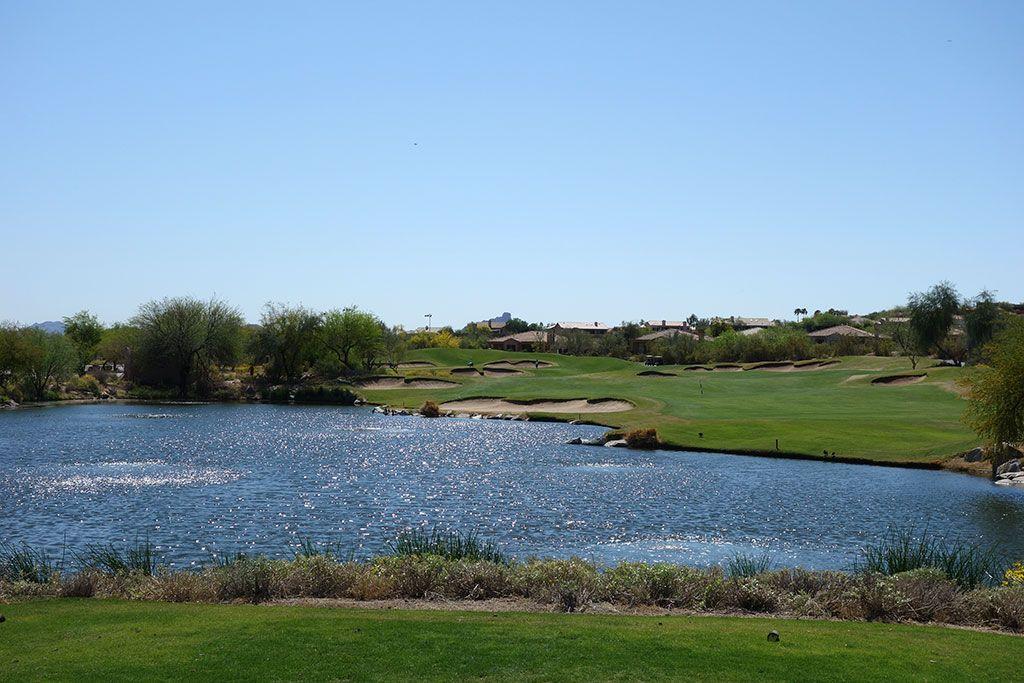 10th Hole at SunRidge Canyon Golf Club (308 Yard Par 4)