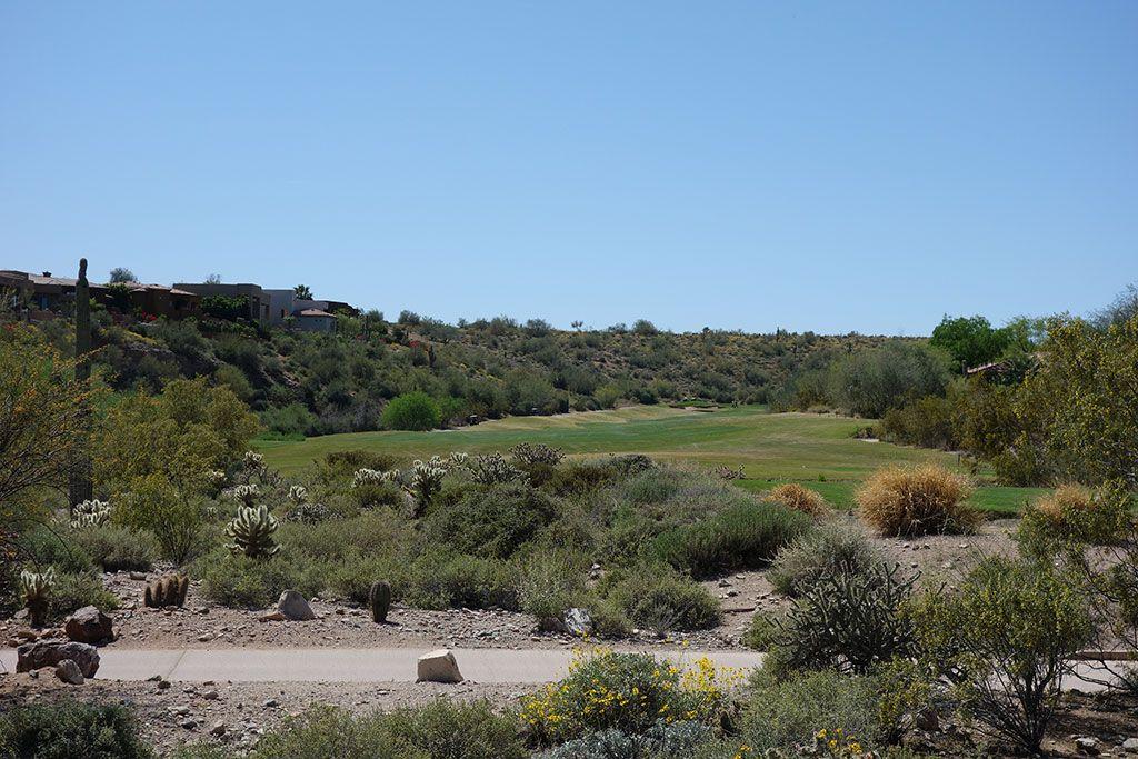13th Hole at SunRidge Canyon Golf Club (578 Yard Par 5)