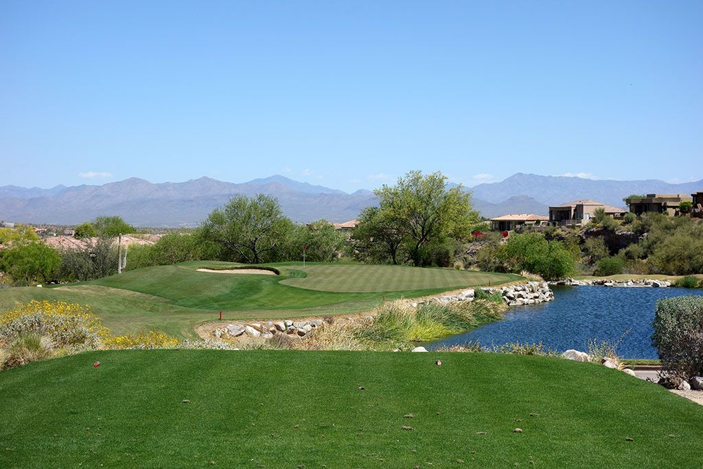 14th Hole at SunRidge Canyon Golf Club (181 Yard Par 3)