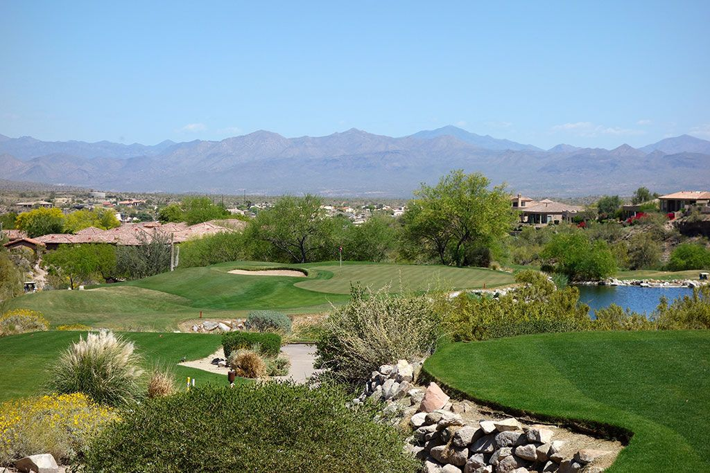 14th Hole at SunRidge Canyon Golf Club (181 Yard Par 3)