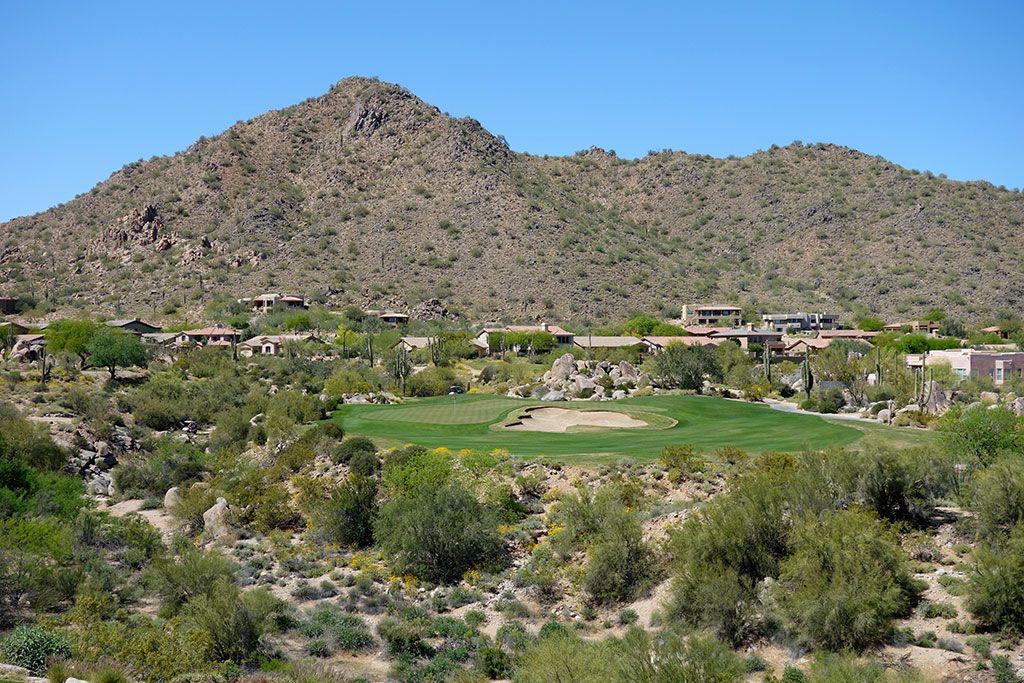 17th Hole at SunRidge Canyon Golf Club (209 Yard Par 3)
