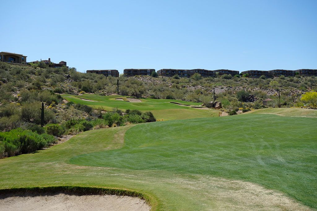 18th Hole at SunRidge Canyon Golf Club (432 Yard Par 4)