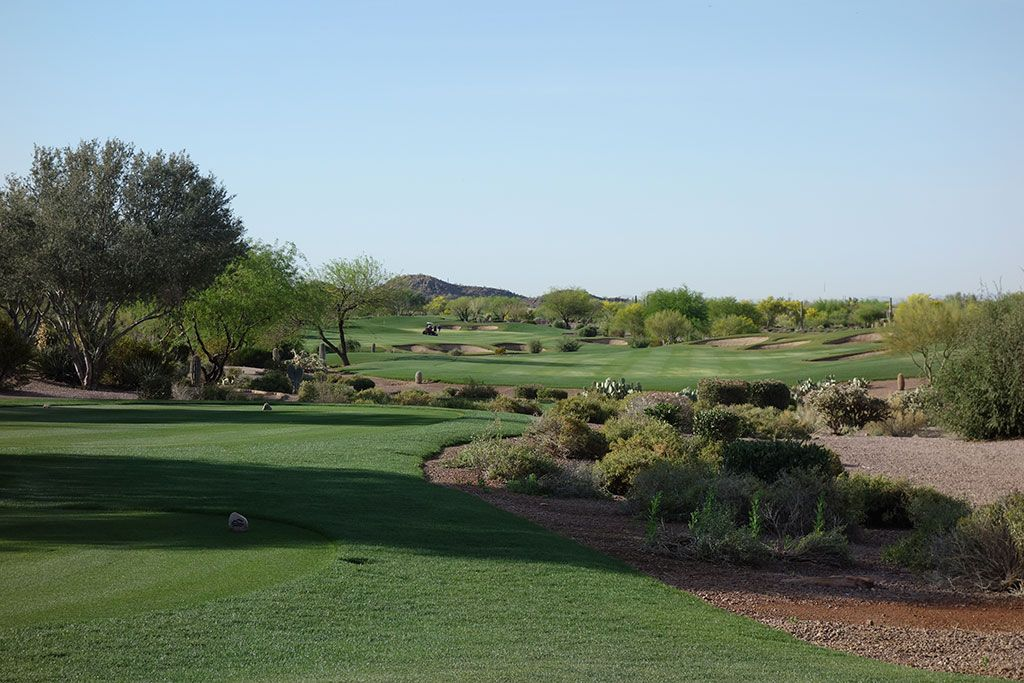5th Hole at Superstition Mountain Golf Club (Lost Gold) (541 Yard Par 5)