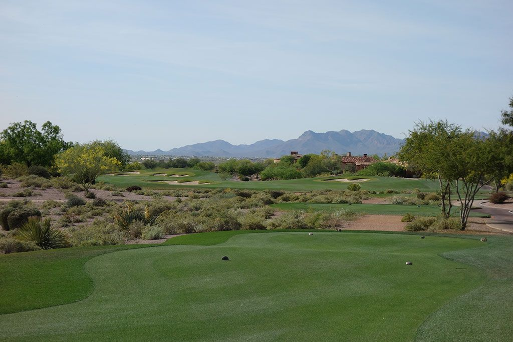 13th Hole at Superstition Mountain Golf Club (Prospector) (589 Yard Par 5)