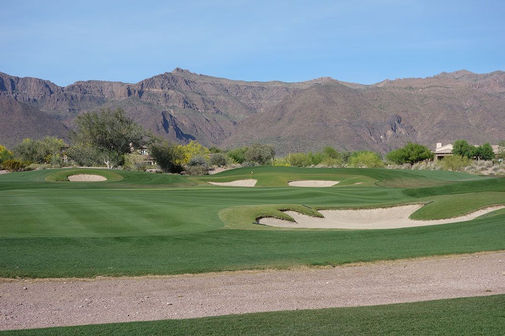 16th Hole at Superstition Mountain (Prospector) (446 Yard Par 4)