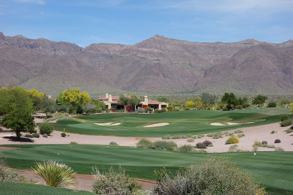 4th Hole at Superstition Mountain (Prospector) (184 Yard Par 3)