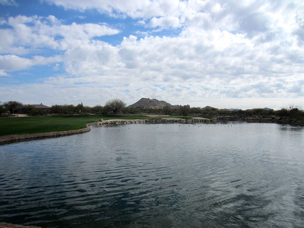 10th Hole at Terravita Golf Club (442 Yard Par 4)