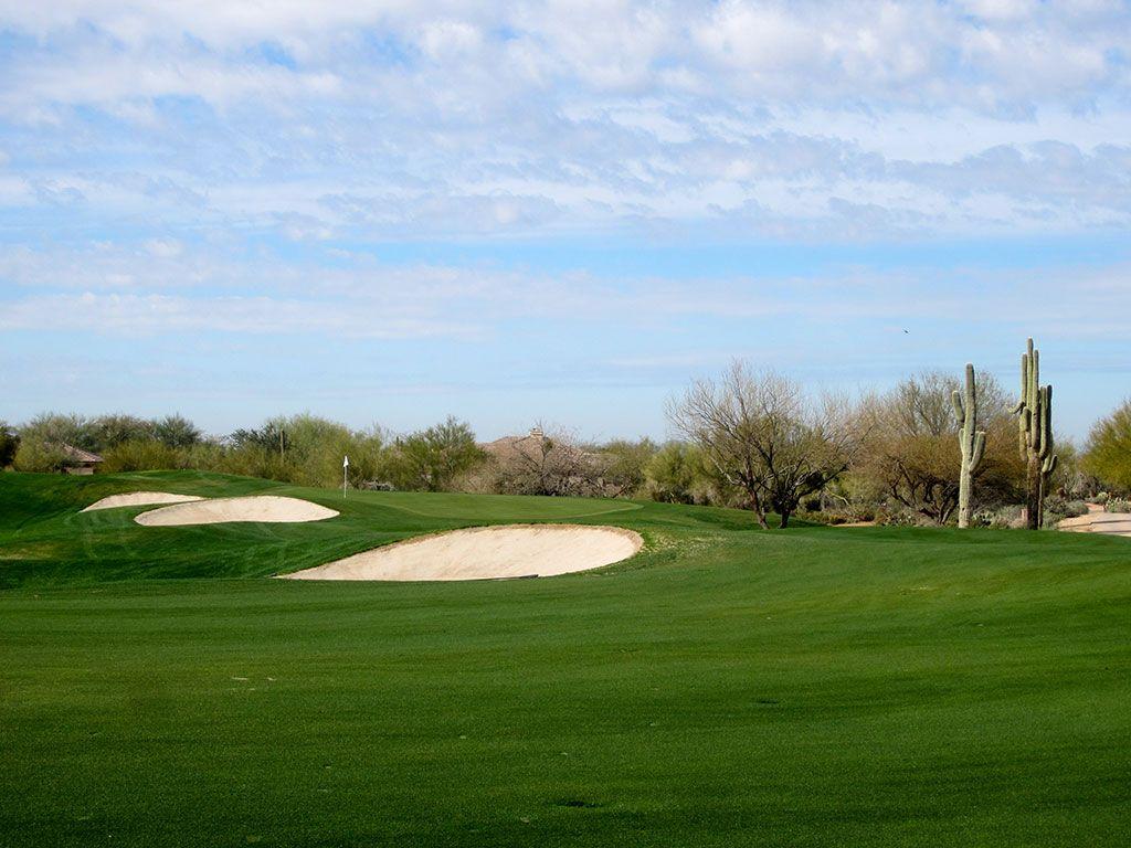 17th Hole at Terravita Golf Club (354 Yard Par 4)