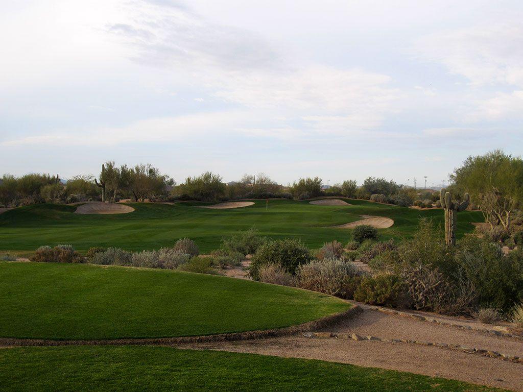 4th Hole at Terravita Golf Club (211 Yard Par 3)