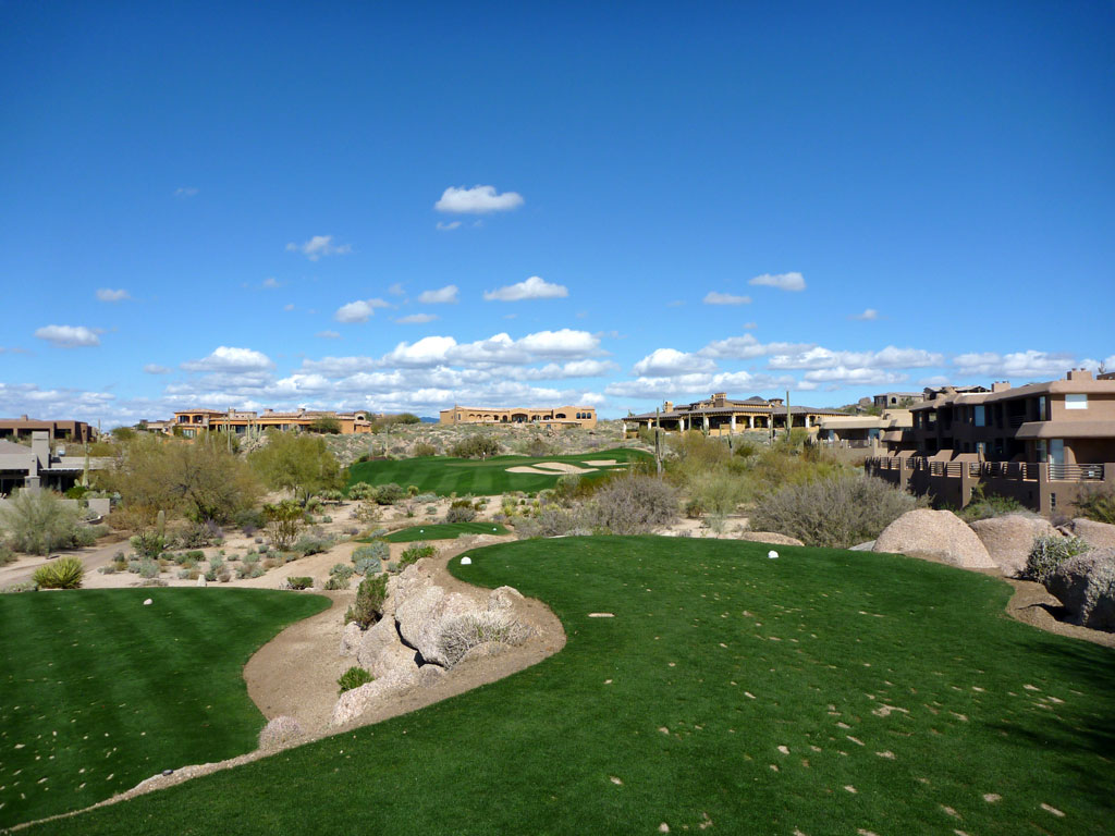 2nd Hole at Troon North (Monument) (172 Yard Par 3)