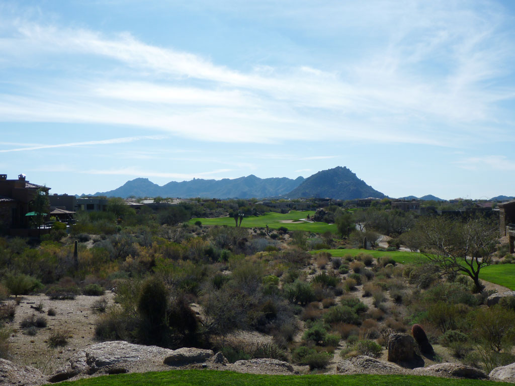 14th Hole at Troon North (Pinnacle) (609 Yard Par 5)