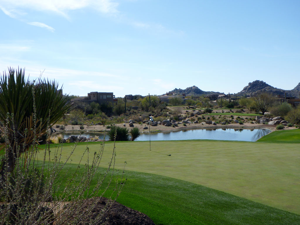 16th Hole at Troon North (Pinnacle) (140 Yard Par 3)