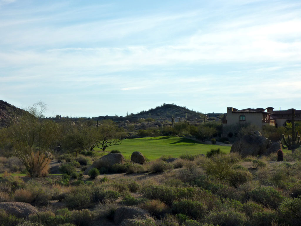 5th Hole at Troon North (Pinnacle) (541 Yard Par 5)