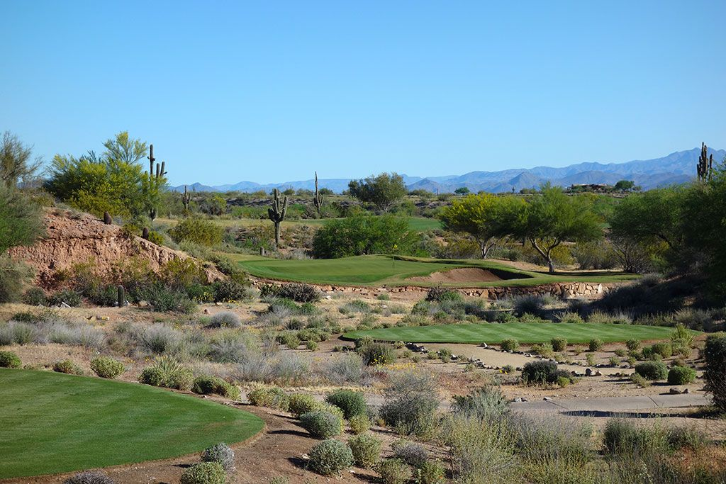 3rd Hole at We-Ko-Pa Golf Club (Cholla) (178 Yard Par 3)