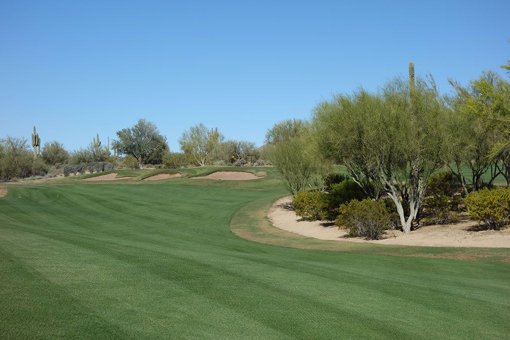 7th Hole at We-Ko-Pa (Cholla) (350 Yard Par 4)