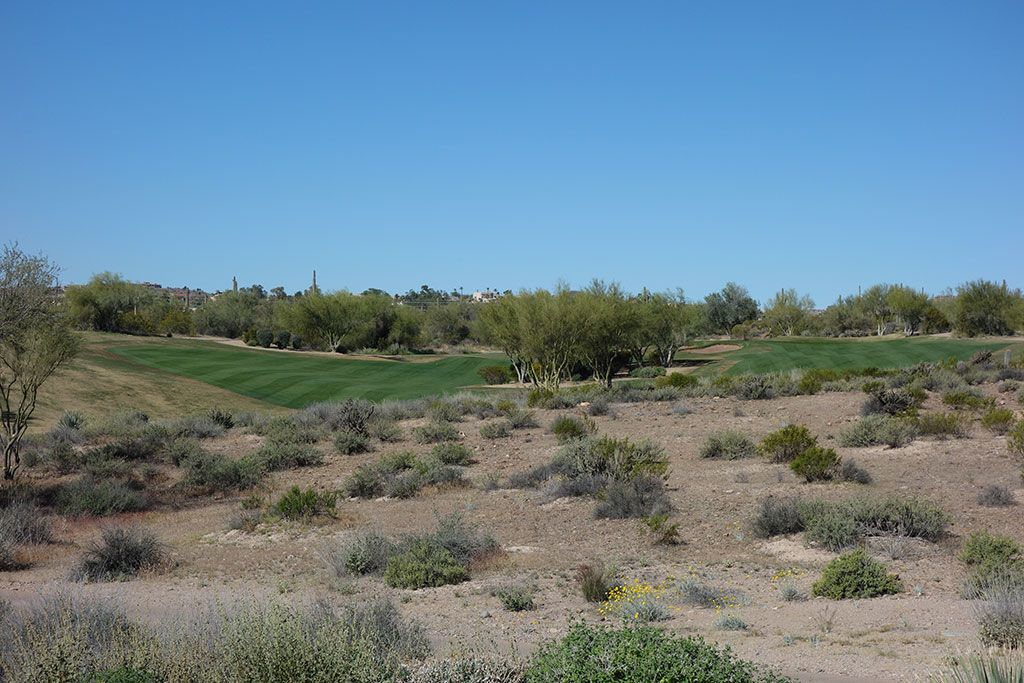 7th Hole at We-Ko-Pa Golf Club (Cholla) (350 Yard Par 4)
