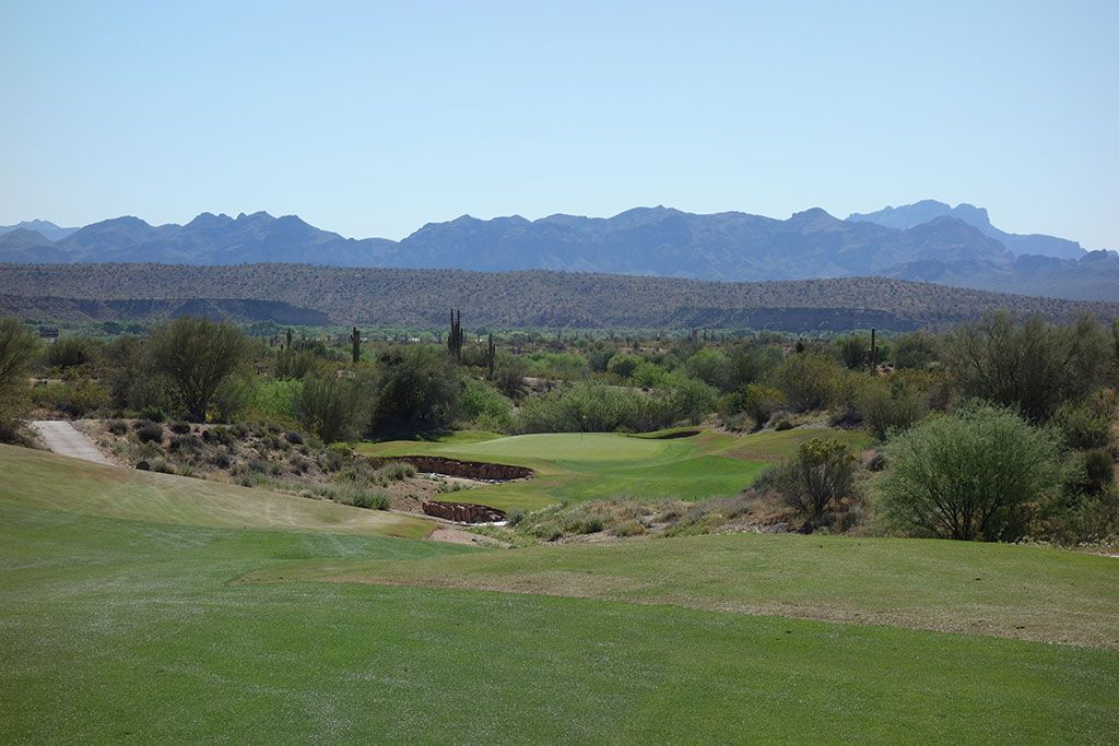 8th Hole at We-Ko-Pa (Cholla) (605 Yard Par 5)