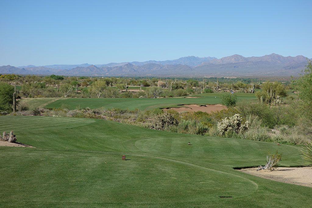 10th Hole at We-Ko-Pa (Saguaro) (337 Yard Par 4)