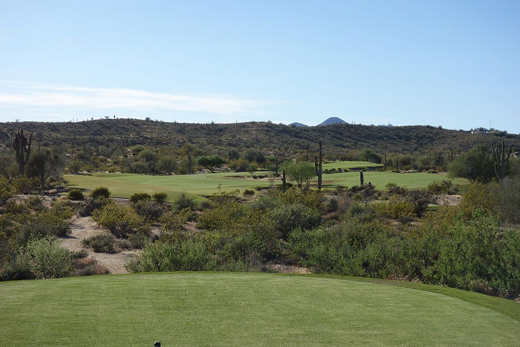 14th Hole at We-Ko-Pa (Saguaro) (538 Yard Par 5)