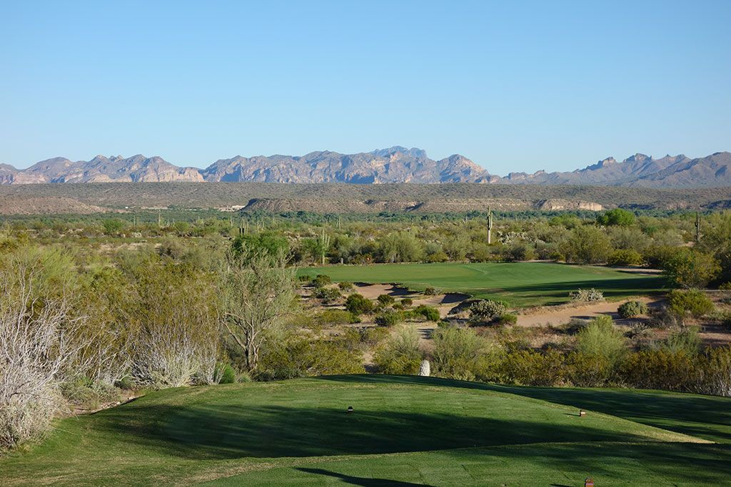 15th Hole at We-Ko-Pa (Saguaro) (255 Yard Par 3)