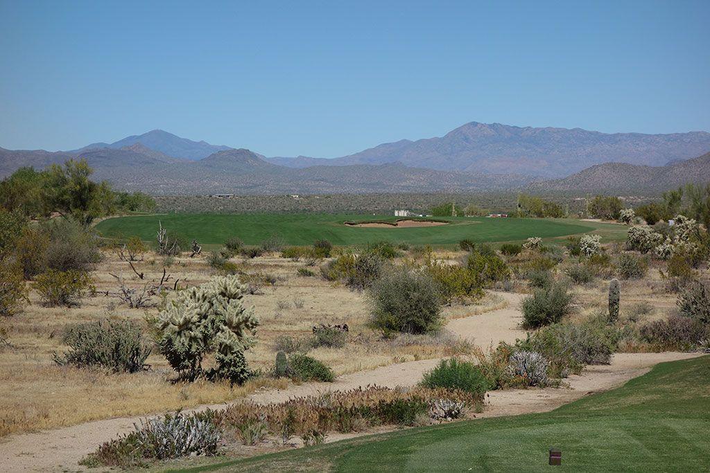 4th Hole at We-Ko-Pa Golf Club (Saguaro) (631 Yard Par 5)