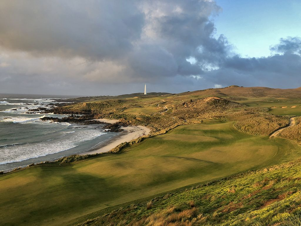 18th Hole at Cape Wickham Golf Links