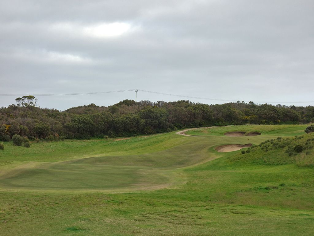3rd Hole at Moonah Links Resort (Open) (413 Yard Par 4)