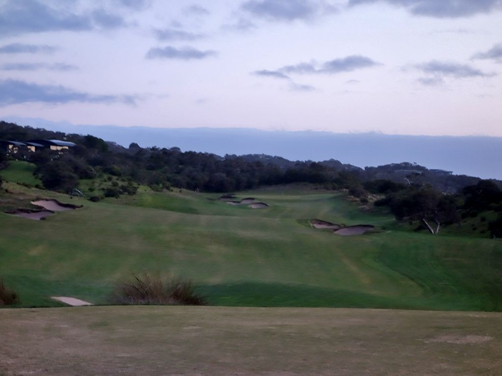 16th Hole at National Golf Club (Moonah) (489 Yard Par 4)