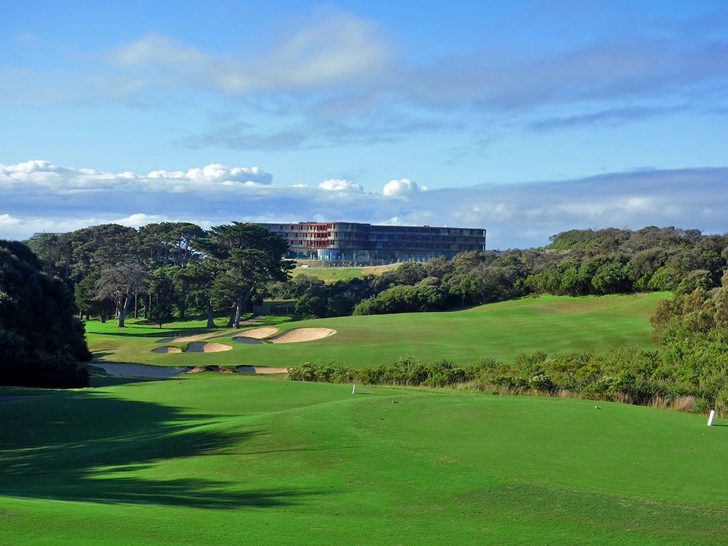 14th Hole at National Golf Club (Old) (427 Yard Par 4)