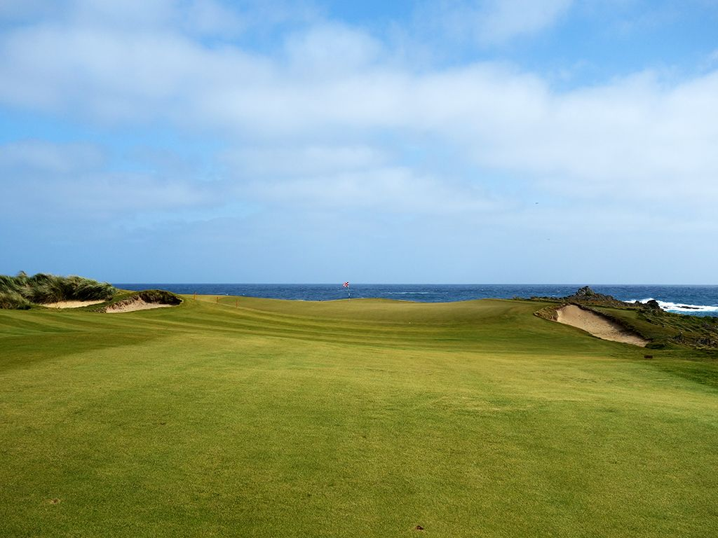 3rd Hole at Ocean Dunes Golf Course (477 Yard Par 4)