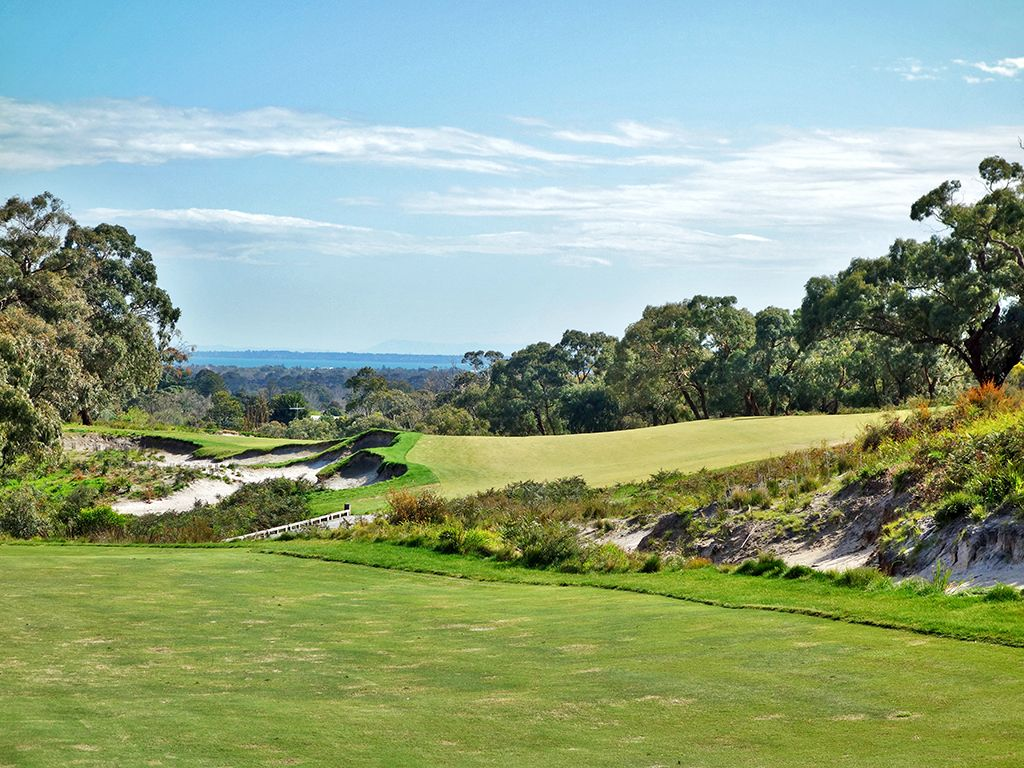 3rd Hole at Peninsula Kingswood Country Golf Club (North) (550 Yard Par 5)