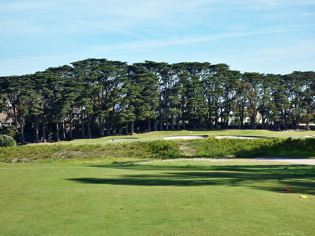 1st Hole at Royal Melbourne Golf Club (East) (332 Yard Par 4)