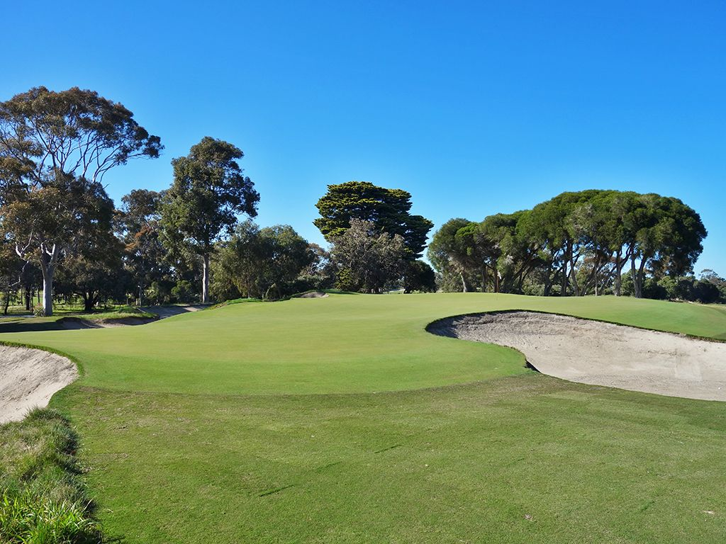 4th Hole at Victoria Golf Club