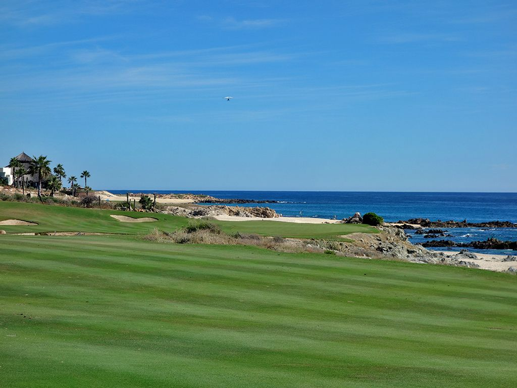 18th Hole at Cabo del Sol (Ocean) (430 Yard Par 4)