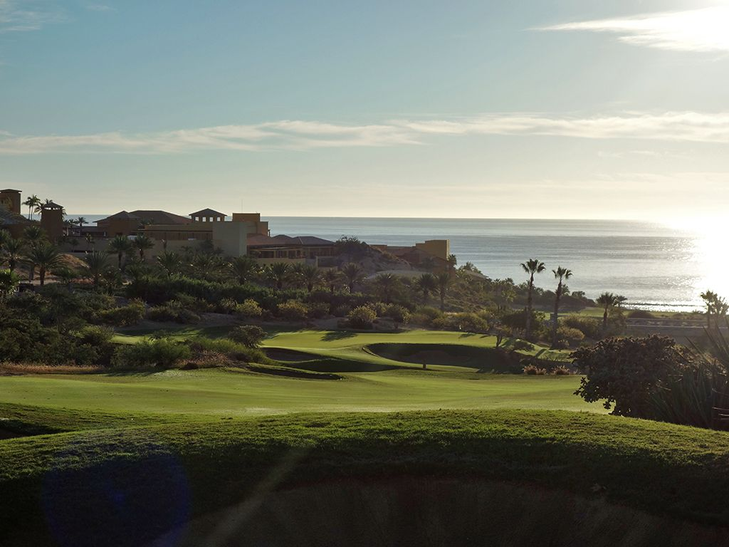 4th Hole at Cabo del Sol (Ocean) (555 Yard Par 5)
