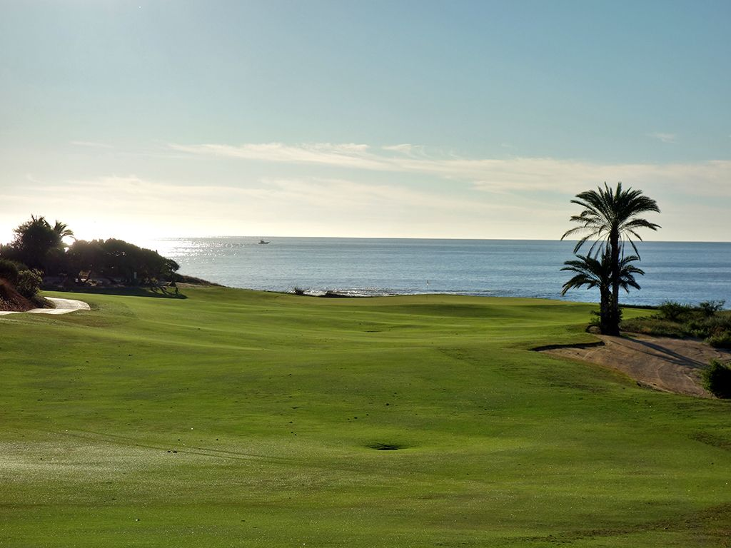 5th Hole at Cabo del Sol (Ocean) (490 Yard Par 4)