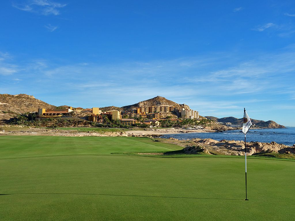 6th Hole at Cabo del Sol (Ocean) (184 Yard Par 3)