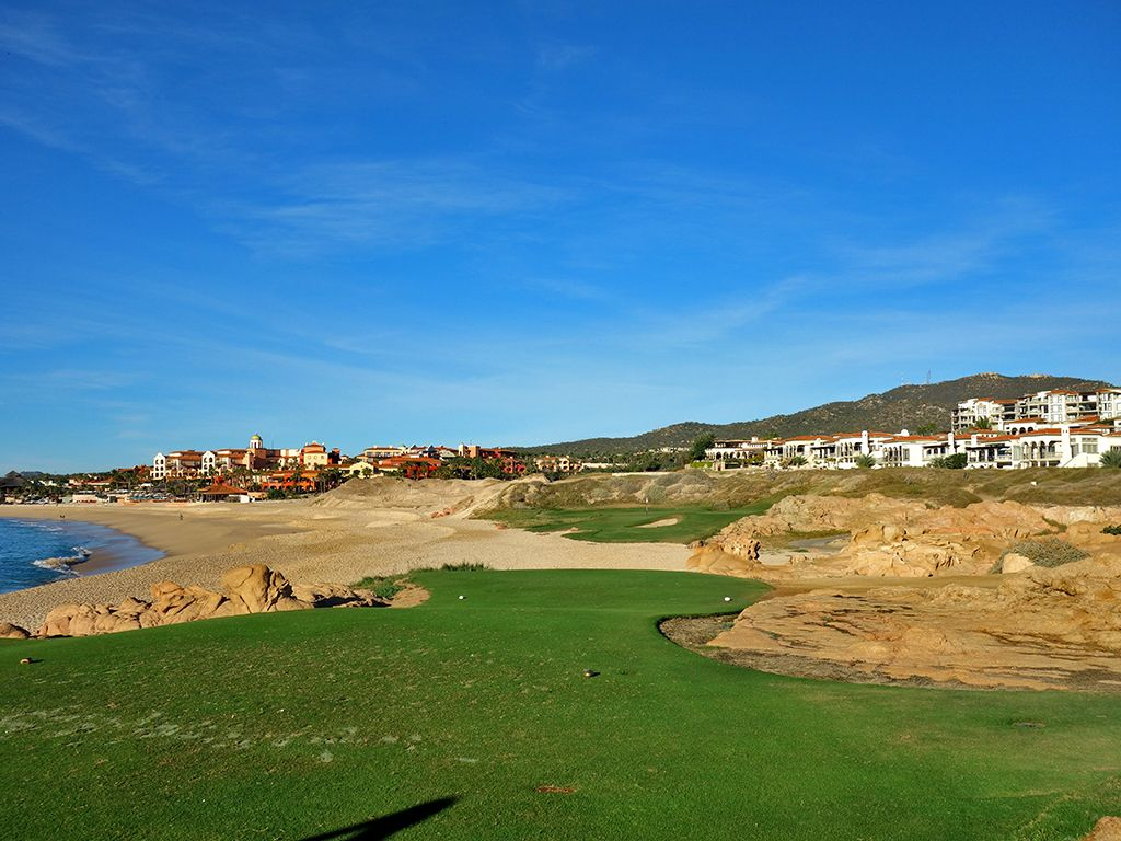 7th Hole at Cabo del Sol (Ocean) (139 Yard Par 3)