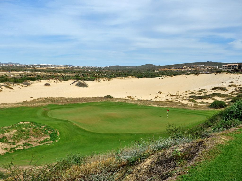 2nd Hole at Diamante (Dunes) (252 Yard Par 3)
