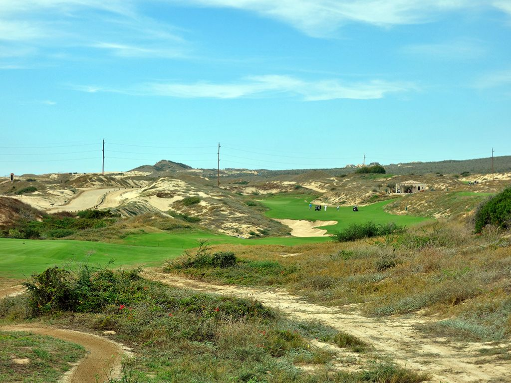 6th Hole at Diamante (Dunes) (488 Yard Par 5)