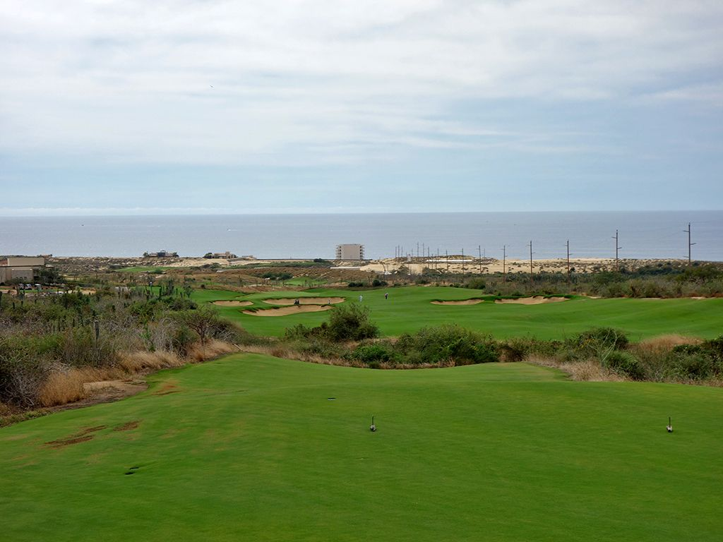 18th Hole at Diamante (El Cardonal) (537 Yard Par 5)