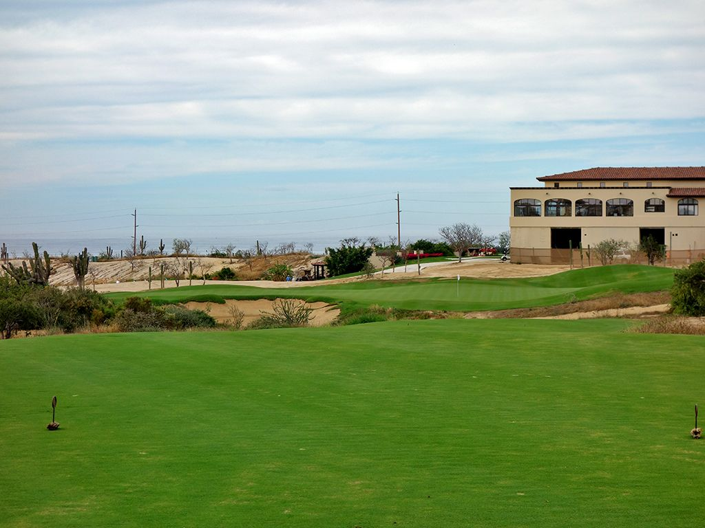 9th Hole at Diamante (El Cardonal) (200 Yard Par 3)