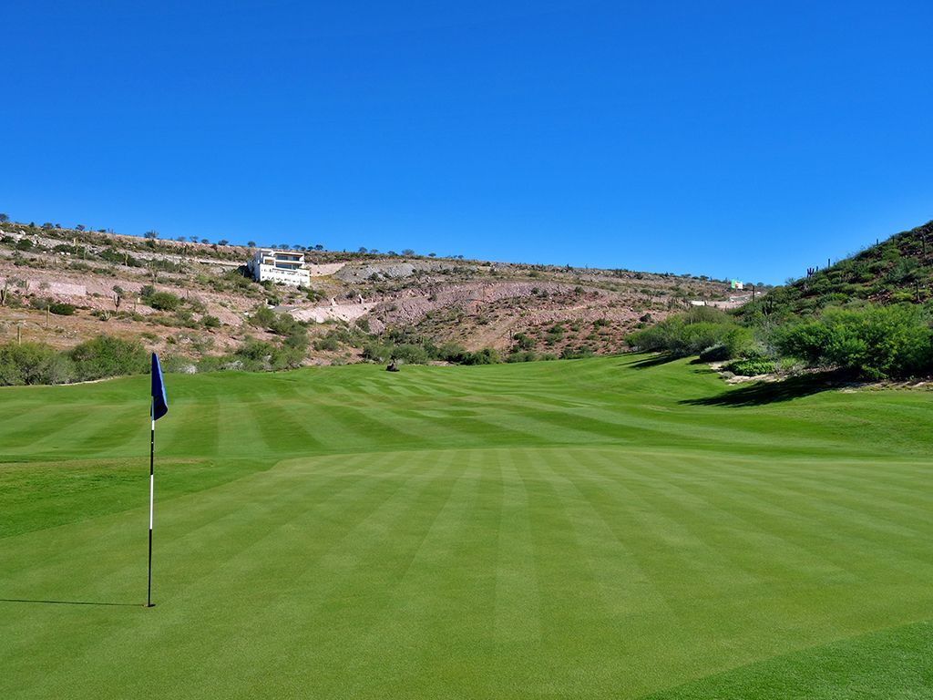 14th Hole at El Cortes Gary Player Signature Golf Club (612 Yard Par 5)