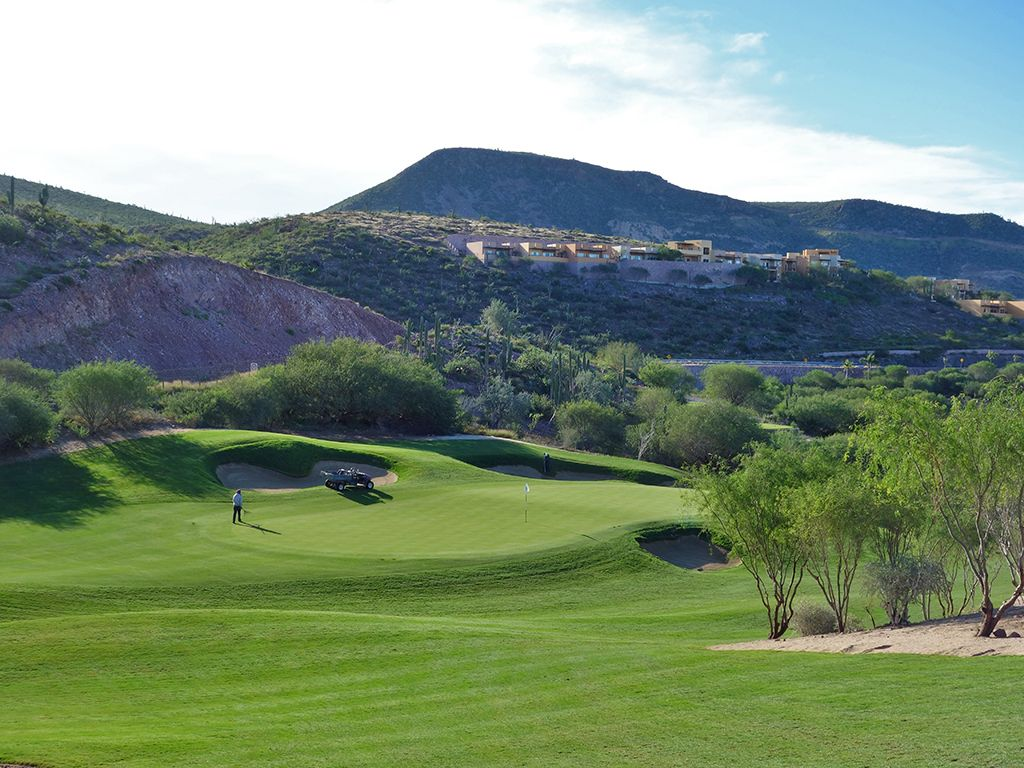 7th Hole at El Cortes Gary Player Signature Golf Club (451 Yard Par 4)