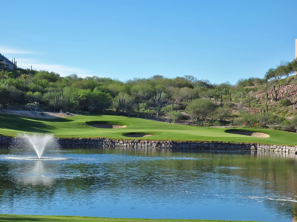 8th Hole at El Cortes Gary Player Signature Golf Club (180 Yard Par 3)