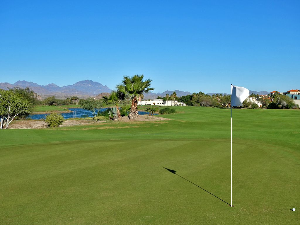 10th Hole at Loreto Bay Golf Resort & Spa  (560 Yard Par 5)