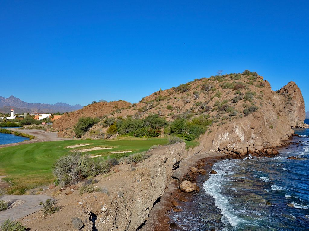 14th Hole at Loreto Bay Golf Resort & Spa  (150 Yard Par 3)